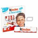 Chocolate Barra - KINDER - x 4u.