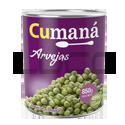Arvejas - CUMANA - x 850 gr.