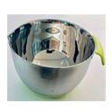 Bowl Acero C/Base Silicona 21 cm x u.