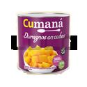 Duraznos CUBOS - CUMANA - x 3 Kg.