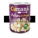 Palmitos Trozos - CUMANA - x 800 gr.
