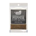 Pimienta Negra Molida Zipper - BADIA - x 14.2 gr.