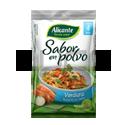 Sabor Polvo Verduras Sin Sal - ALICANTE - x 7,5 gr. x 4u.