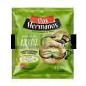 Aritos de Arroz Sabor Crema y Cebolla - DOS HERMANOS - x 80 gr.